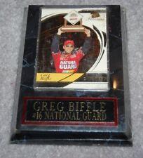 "GREG BIFFLE #16 NASCAR RACING 4"" x 6"" SPORTS PLAQUE"