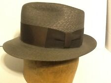 Vintage Knox Straw Hat 7 1/8