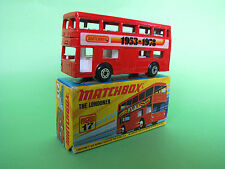 Matchbox Lesney Superfast No 17 The Londoner 1972 Mib