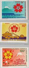 DAHOMEY 1970 419-21 270 U C124-5 EXPO 70 Osaka Japan Weltausstellung Fujisan MNH