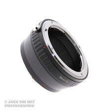 Pro Nikon F to Fuji X Mount Lens Adapter. Adaptor for X-E1, X-Pro1, X-E2 etc