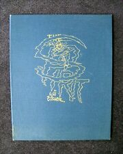 WILL EISNER HARD BOUND ART PORTFOLIO LIMITED EDITION S/N W/CERT SPIRIT 1977
