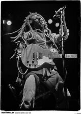 More details for bob marley live - retro poster size 84.1cm x 59.4cm - approx 34''x 24''
