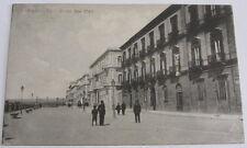 Cartolina d'epoca Taranto - Corso due Mari -1917 Viaggiata