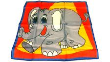 "18"" ELEPHANT PRODUCTION SILK Animal Magic Trick Scarf Magician Circus Prop Dumbo"