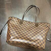 Louis Vuitton Tote Bag Neverfull MM Damier N51105 Browns Damier Used