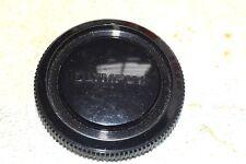 OLYMPUS 35 mm SLR CAMERA BODY CAP BAYONET-style BLACK PLASTIC