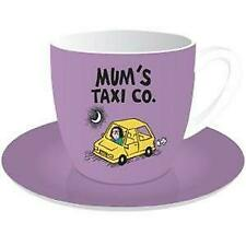 10oz Cup & Saucer - Truth About Mums & Dads (Mum's Taxi)