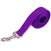 """1"""" Wide Nylon Pet Dog Puppy Cat Walking Training Obedience Recall Lead Leash Red"""