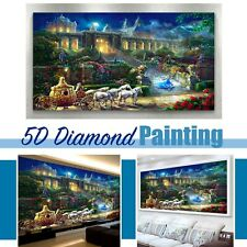Sweet Dream Castle Design 5D Round Drill Diamond Painting DIY Cross Stitch Kit
