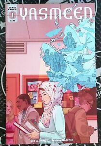 Yasmeen #1 2020 Scout Comics Ahmed Mascolo