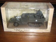 WW2 - U.S. ARMY M16 MULTIPLE GUN MOTOR CARRIAGE - MINT IN BOX - 1:43