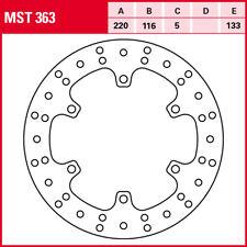 TRW Disques de Frein Arrière MST363 avec ABE