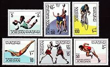 Jordanien Jordan 1970 ** Mi.780/85 Sport Fußball Football Boxen Basketball