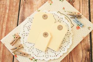 Colorful Luggage Tags 20pc handmade DIY craft wedding wishing tree shop gift tag