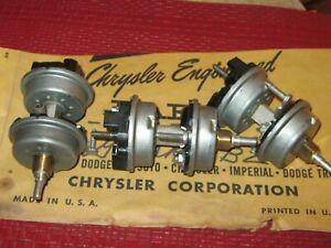 NOS Mopar 1956 Desoto,Dodge Windshield Wiper Switch lot of 3