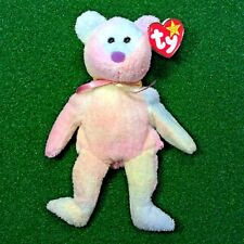 Ty Beanie Baby Groovy The Bear Retired 1999 Tie-Dye Plush Toy MWMT - SHIPS FREE