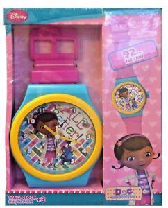 Doc McStuffins Large Disney Wrist Watch Wall Clock Kids Girls Bedrom