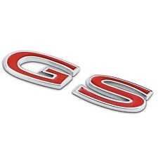 3D GS Alloy Car Auto Body Rear Back Emblem Badge Sticker for Buick REGAL Vehicle