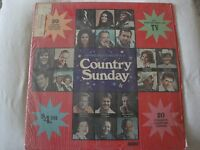HYMNS AND SONGS FOR A COUNTRY SUNDAY VARIOUS ARTISTS VINYL LP WORD RECORDS EX
