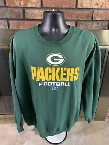 Green Bay Packers NFL Football Crewneck Sweatshirt Mens Size XXXL NFC