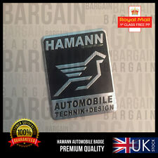 Hamann Automobile Technik Design Badge Emblem Decal Logo E30 E36 E46