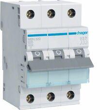 Hager MBN320 Leitungsschutzschalter 3 polig 6kA B-Charakteristik