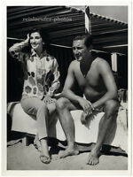 General Francos Tochter in Venedig. Original-Photo von 1961