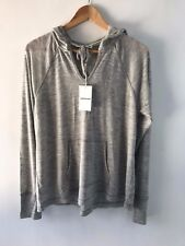 COUNTRY ROAD SZ L,XL [CR LOVE] NEW! MERINO HOODIE KNIT GREY 14-16