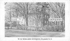Westfield New York Mollard Antiques Street View Antique Postcard K42904