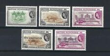British Honduras 1953 Sc# 144/59 Arms Tapir Council chamber Elizabeth Mnh