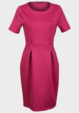 Posh Womens Elegant Vintage Office Wear Work Party Bodycon Career Dresses Pink