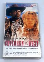 Children of the Dust VHS 1995 Civil Rights Movie Drama w/ Sidney Poitier