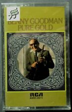 Benny Goodman: Pure Gold (Cassette, c. 1975, RCA Bluebird) NEW