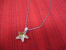 New Swarovski Crystal Star Necklace