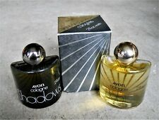 Vintage 1969 Avon Lights and Shadows Cologne 2 fl oz each New Old Stock Nos