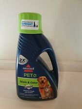 Bissell Pet Stain And Odor Protect Advanced Formula Carpet Shampoo, 60 fl oz