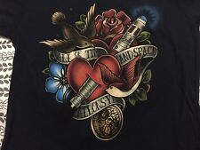 Teefury T Shirt All of Time and Space Dr. Doctor Who Sonic Screwdriver Tattoo Sm