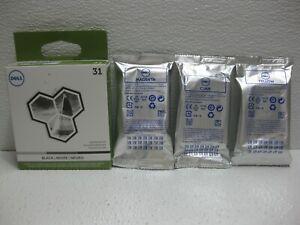 Dell Ink Set 31 V525w V725w Genuine 14N1718 14N1710 14N1714 MYVXX