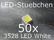 50x 3528 Kaltweiss SMD LED Gurtabschnitt