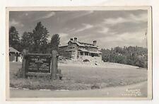 RPPC Game Lodge Hotel, RAPID CITY SD Vintage South Dakota Real Photo Postcard