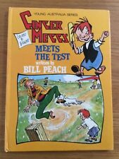 GINGER MEGGS: MEETS THE TEST ~ YOUNG AUSTRALIA SERIES 1ST ED VINTAGE 1976 H/C
