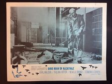 "BURT LANCASTER 11x14  ""THE BIRD MAN OF ALCATRAZ "" 1964 THEATER PROMO LOBBY CARD"