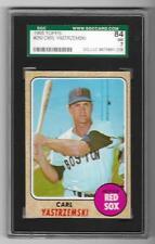 1968 Topps #250 Carl Yastrzemski HOF Boston Red Sox SGC 7 NM