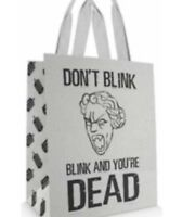 Doctor Who Large Tote Bag Don't Blink Blink And You're Dead Weeping Angel
