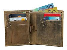Vintage Men's Genuine Leather Wallet Slim Leather Bifold Leather Mens Wallet AU