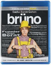 Brüno (Blu-ray Disc, 2009) BRUNO LaToya Jackson (Actor), Sacha Baron Cohen