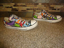 Converse All Star Sz Mens 7 Womens 9 Colorful Abstract Shoes