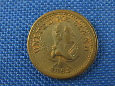 1863 Broas Brothers Pie Bakers Our Country Civil War Token