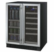 Allavino Built-In Wine Refrigerator & Beverage Center Stainless Steel Dual Zone